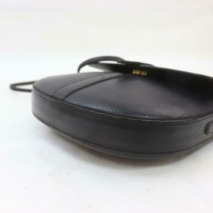 Burberry Bags - Auth Burberry Black Leather Small #2401B51